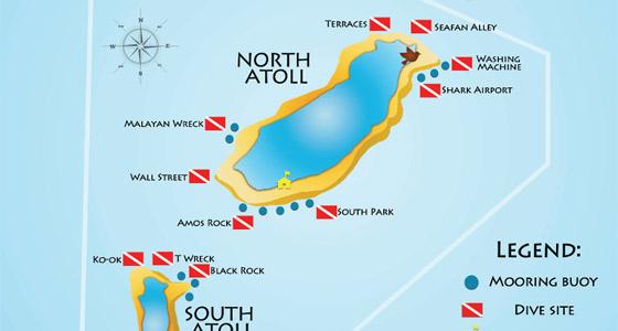 How big is Tubbataha National Park?